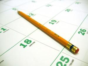 Jaki dzień tygodnia wybrać? (źródło: sxc.hu)