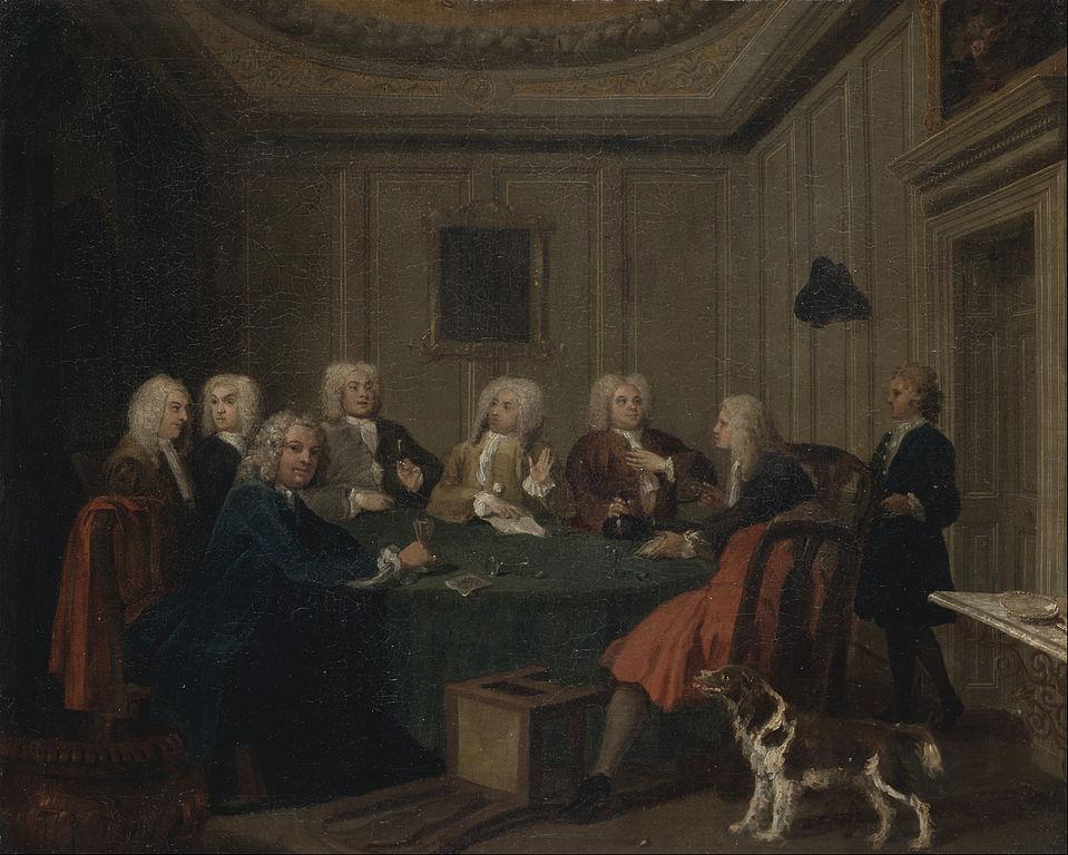 Klub dżentelmenów (Joseph Highmore)