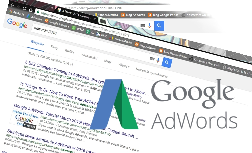 zmiany w AdWords w 2016