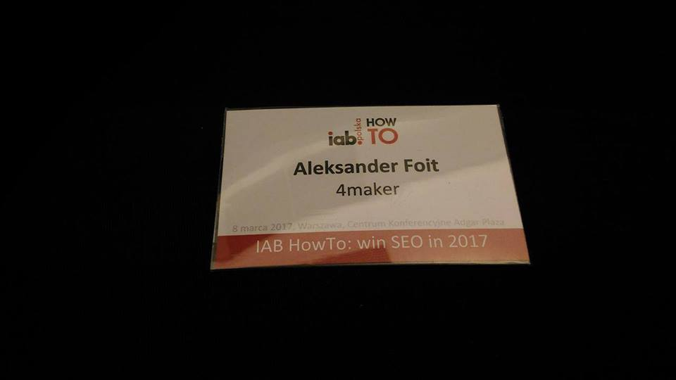 IAB HowTo: win SEO in 2017 bilet