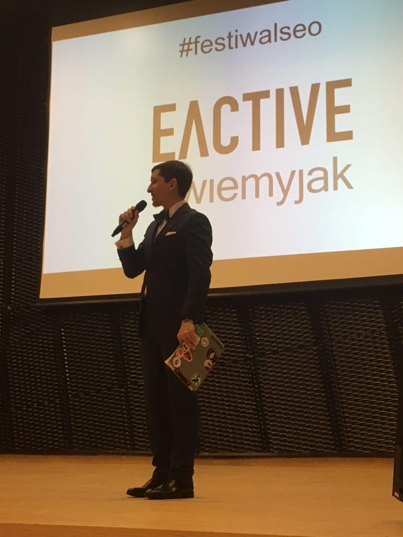 Sławomir Borowy na Festiwalu SEO w Katowicach
