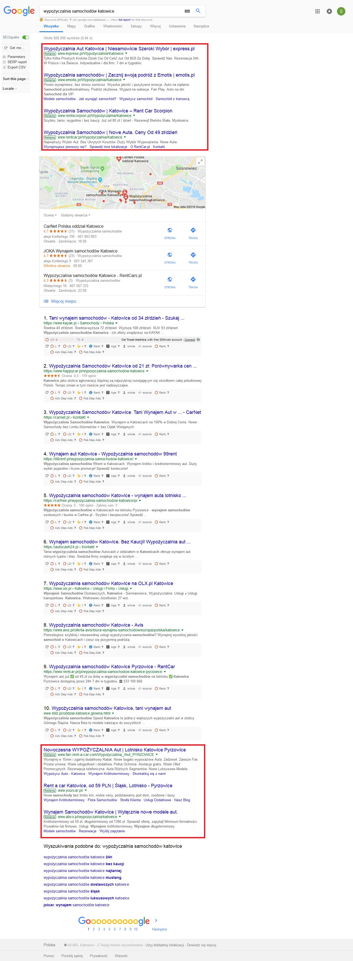 Wyświetlanie Google Ads