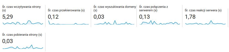czas reakcji serwera
