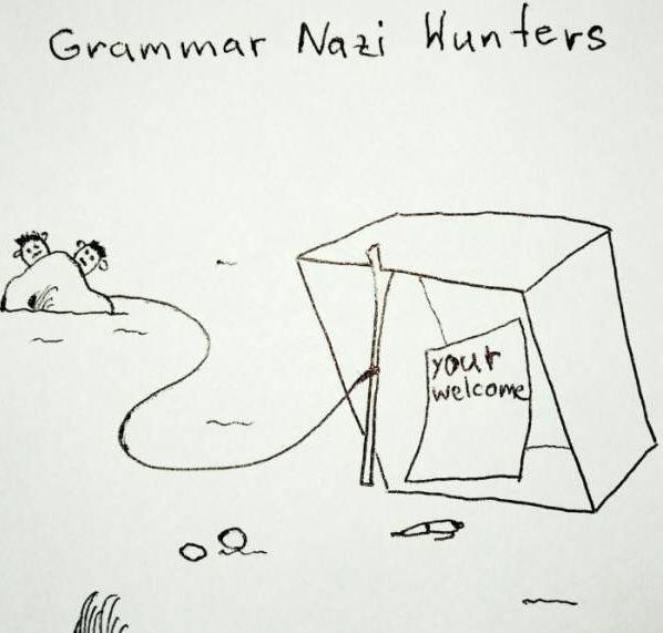 pułapka na grammar nazi