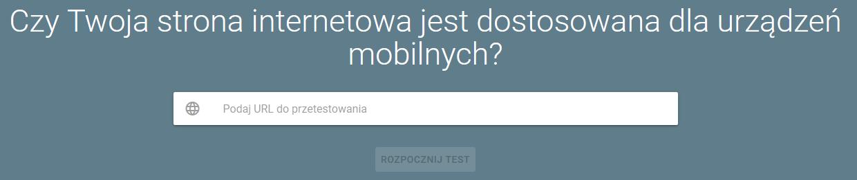 test responsywności mobile