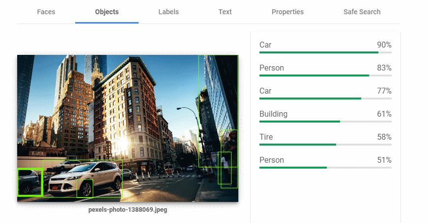 Google Vision API