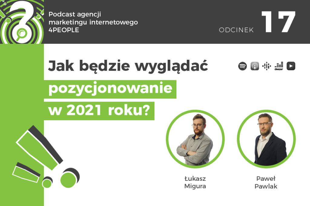 Pozycjonowanie - SEO w 2021 roku
