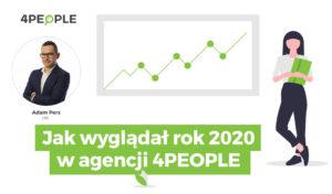 Jak wyglądał rok 2020 w agencji marketingu internetowego 4PEOPLE