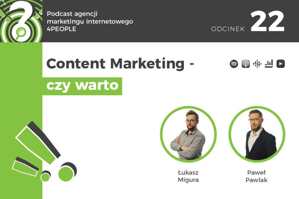Content Marketing czy warto